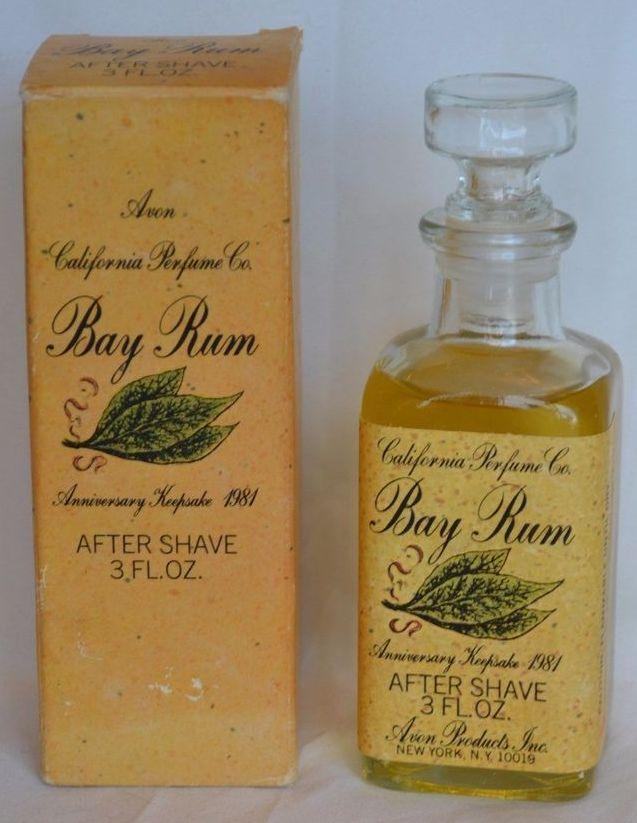 1980s Avon Bay Rum aftershave