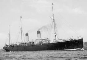 SS Teutonic between 1890-1900