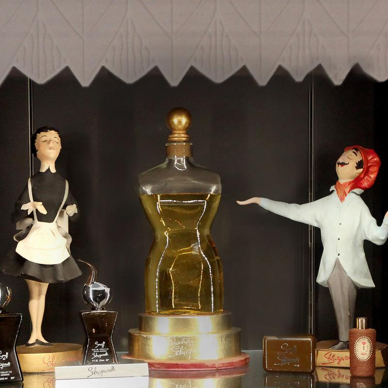 Schiaparelli bottles and figurines